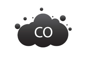 Carbon monoxide cloud