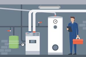 Basement heating system