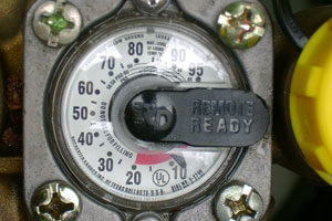 Propane tank gauge