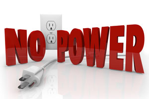 No power
