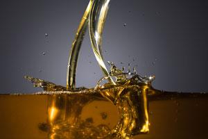 Filling up oil