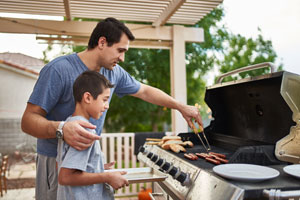 Propane grill safety tips
